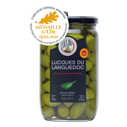 L'Oulibo : Olives Lucques...
