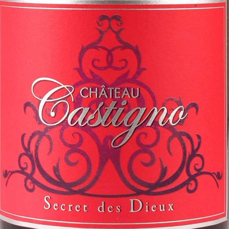 Château Castigno : Secret des Dieux - AOP Saint-Chinian rouge