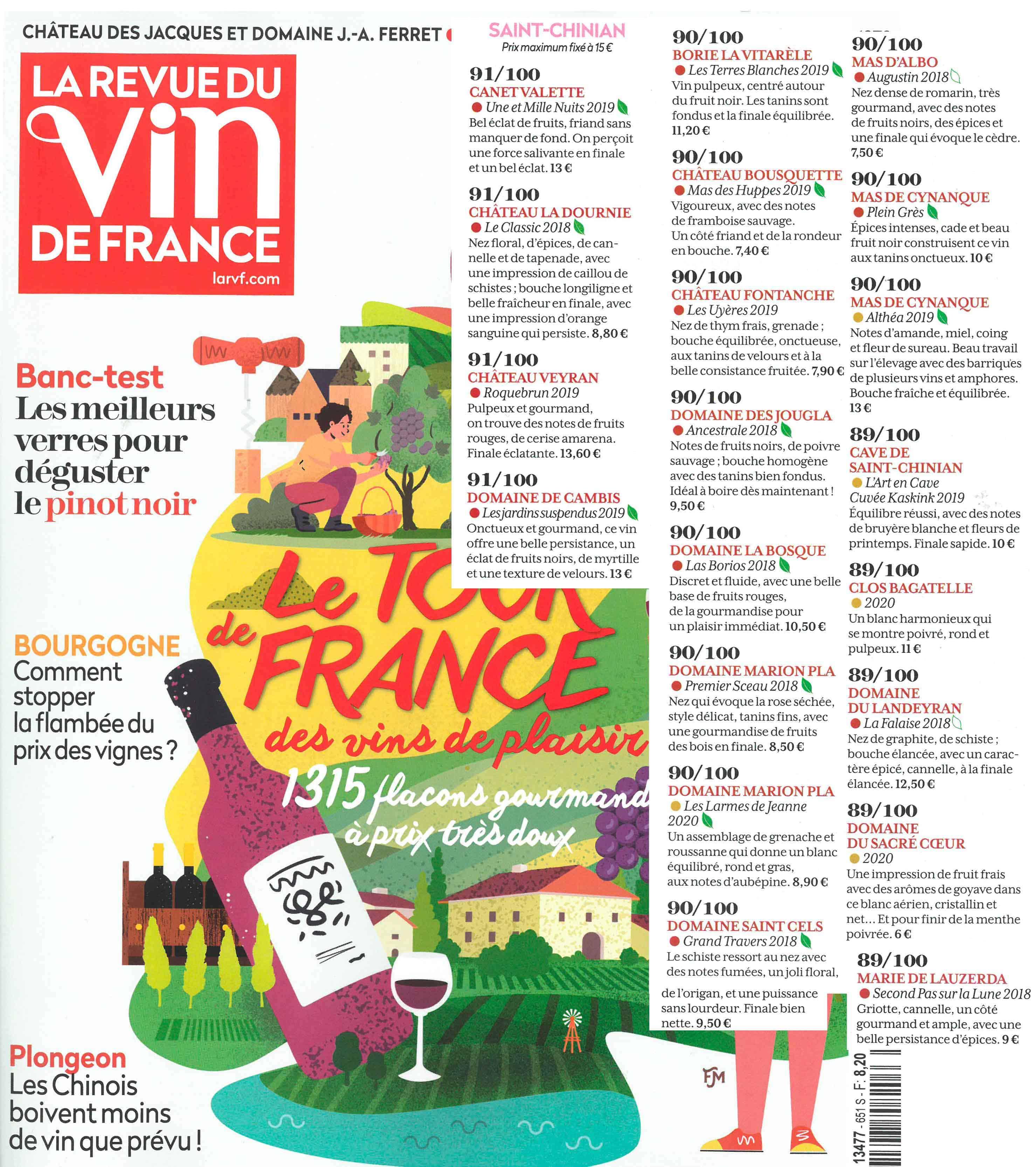 La Revue du Vin de France juin 2021